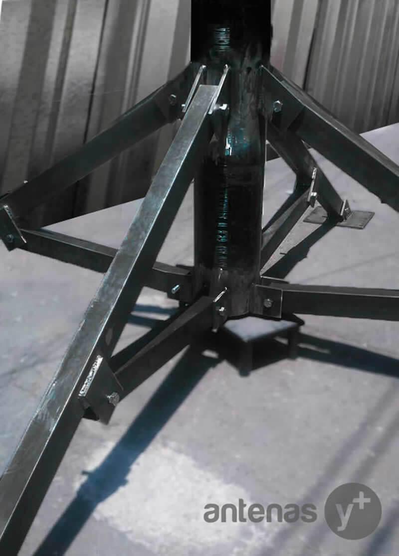 Fabricación de Bases para Antenas Parabolicas