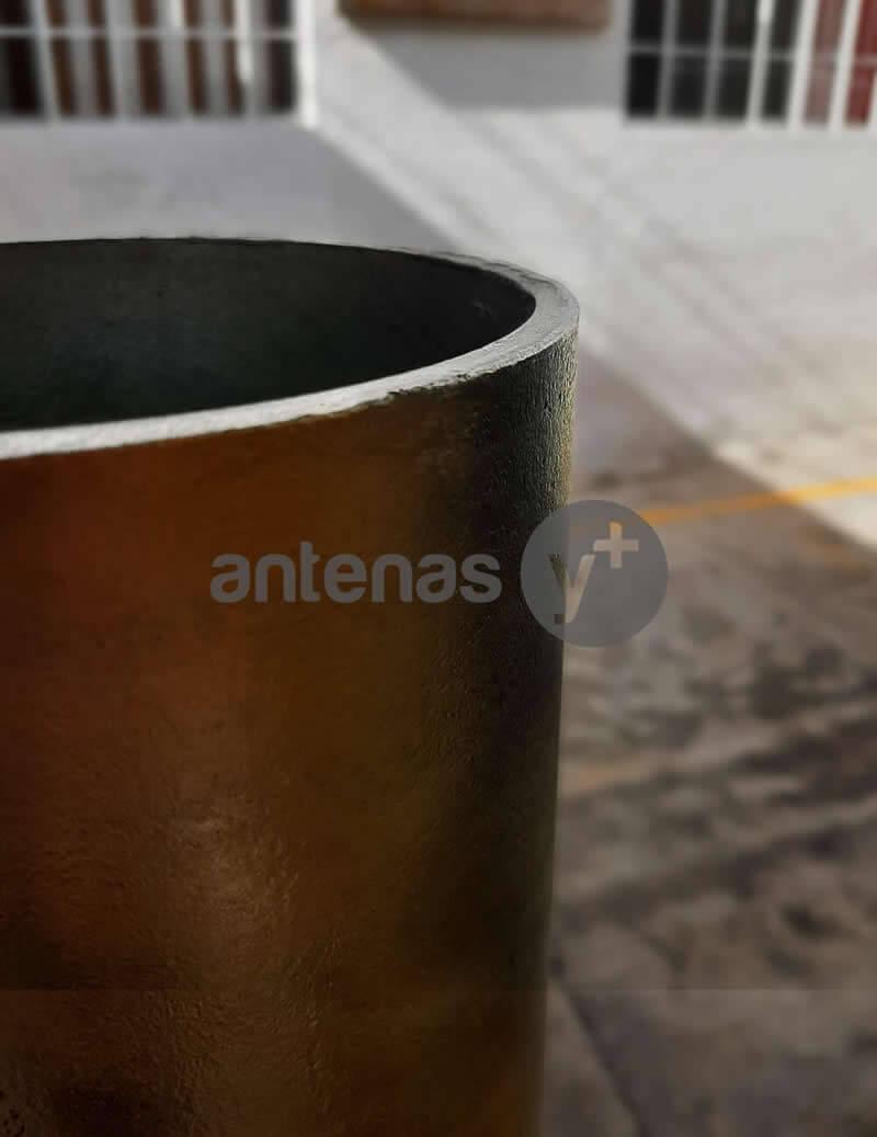 Fabricación de Bases para Antenas VSAT